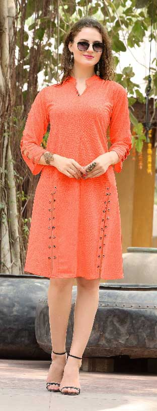 SMC KHUSHBU 01-D NO 11 STYLISH WOMEN KURTY