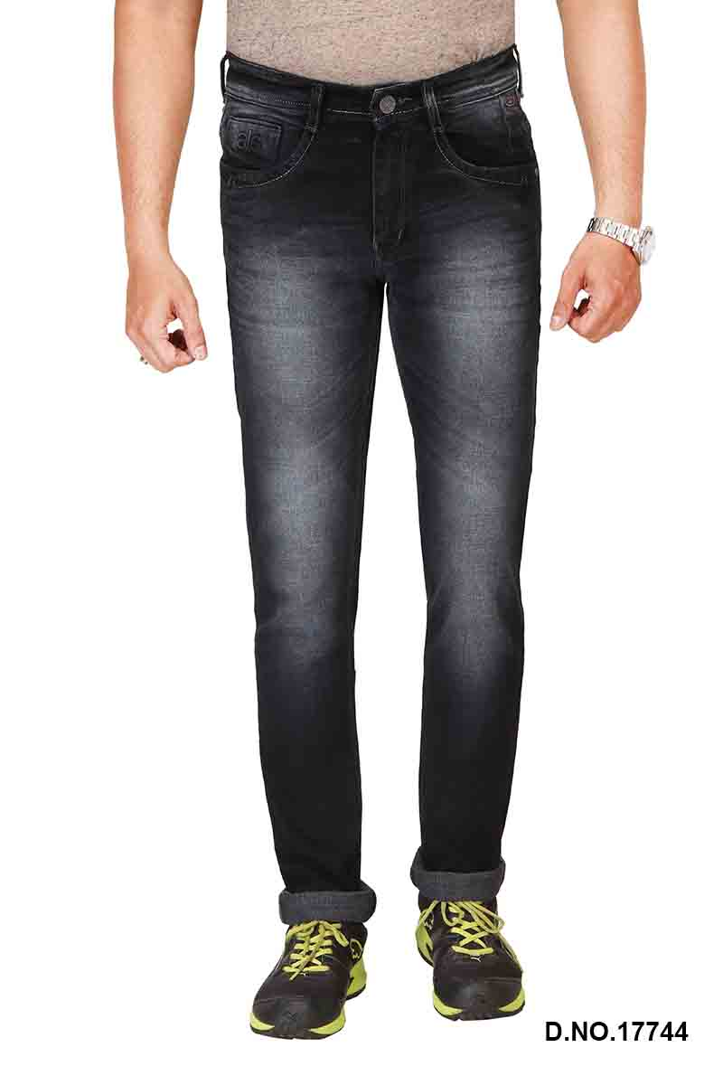 UTD STYLE 6110-BLACK RAISIN DENIM