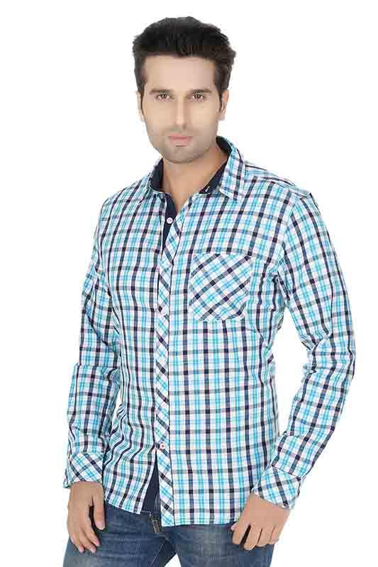 Firoji Checks Casual Shirt
