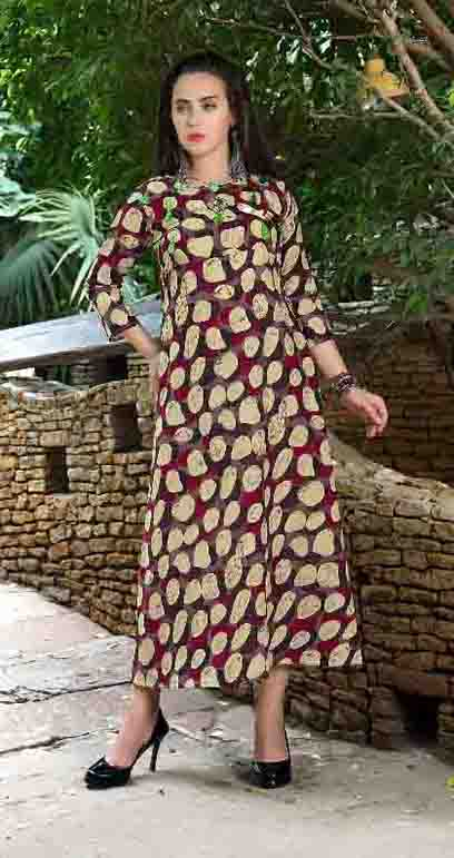 SMC NAJAKAT 01-D NO 2 STYLISH WOMEN KURTY