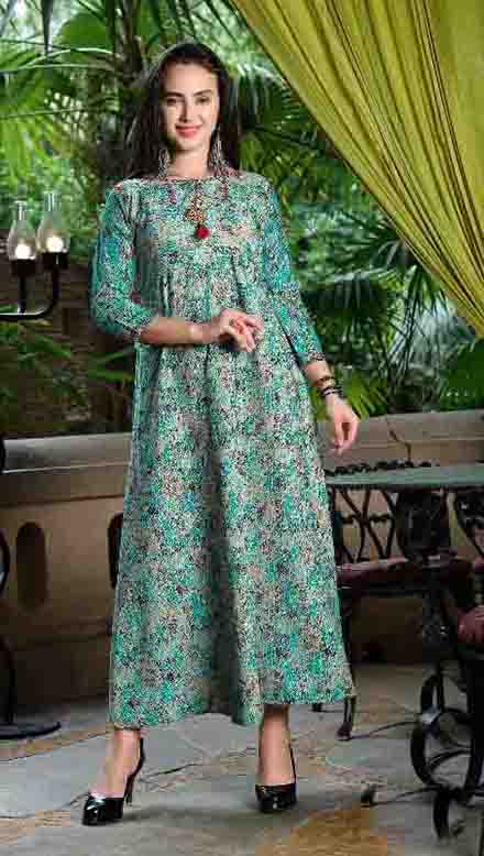SMC NAJAKAT 01-D NO 10 STYLISH WOMEN KURTY