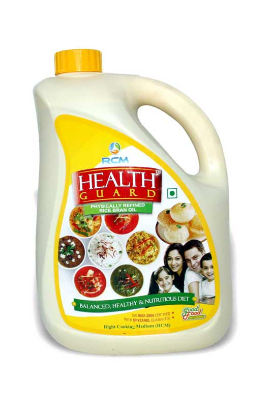 Rcm Health Guard Rice Bran Oil(5ltr)