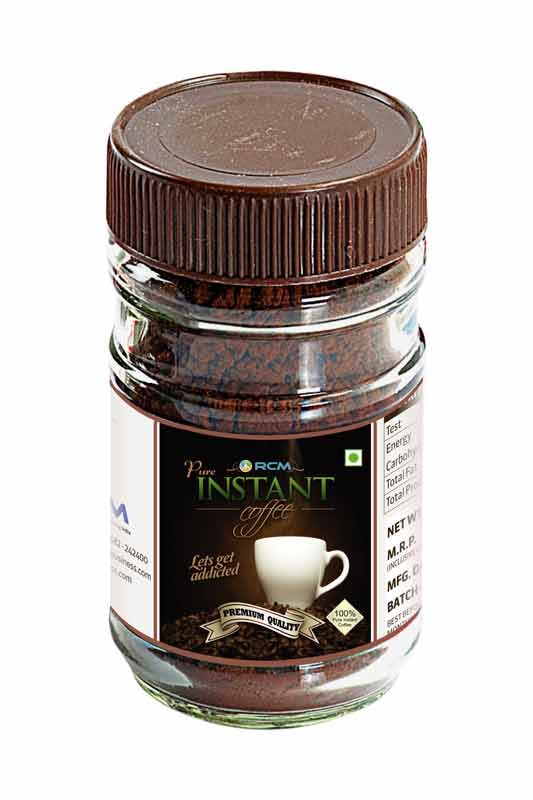 Premium Pure Instant Coffee(50g)