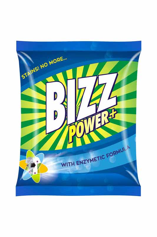 Bizz power plus washing Powder