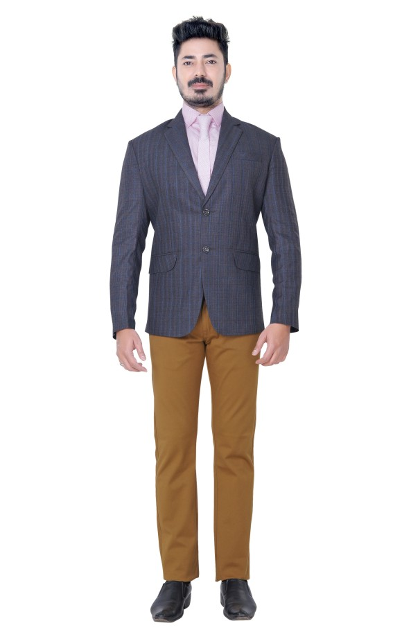MRB ADDITION 01 - 338/51 Gray Readymade Blazer