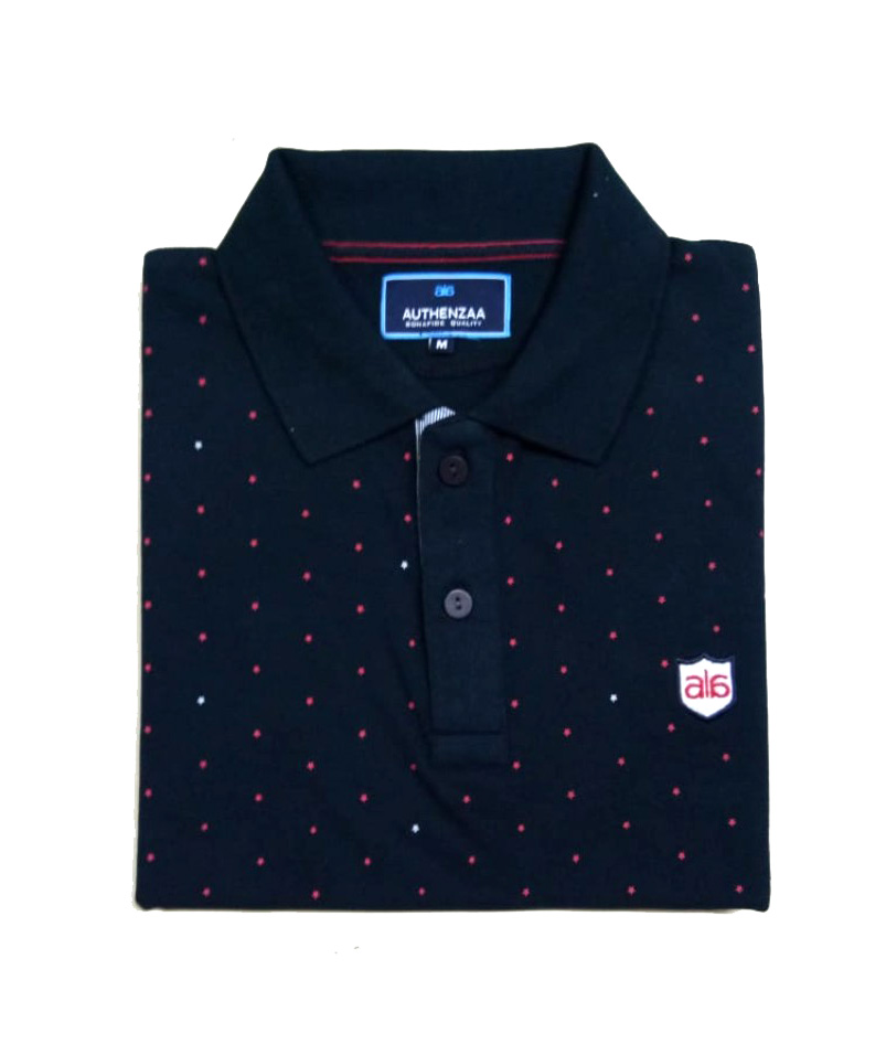 AI A 114-NAVY POLO T SHIRT