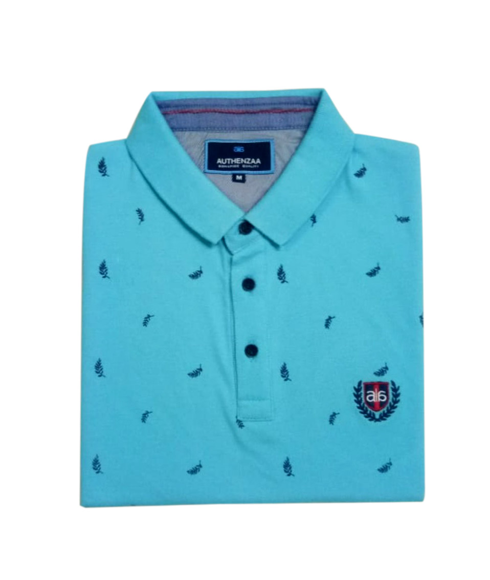 AI A 117-SKY BLUE POLO T SHIRT