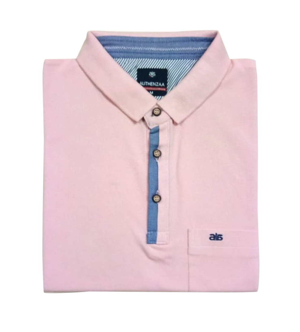 AI F 119-PINK POLO T SHIRT