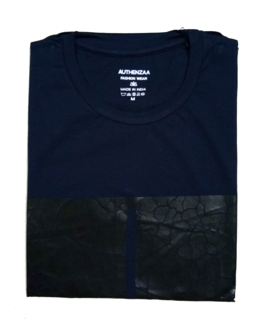 AI L 103-NAVY ROUND NECK T SHIRT