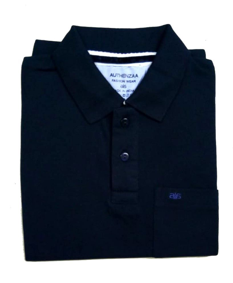 AI P 124-NAVY POLO T SHIRT