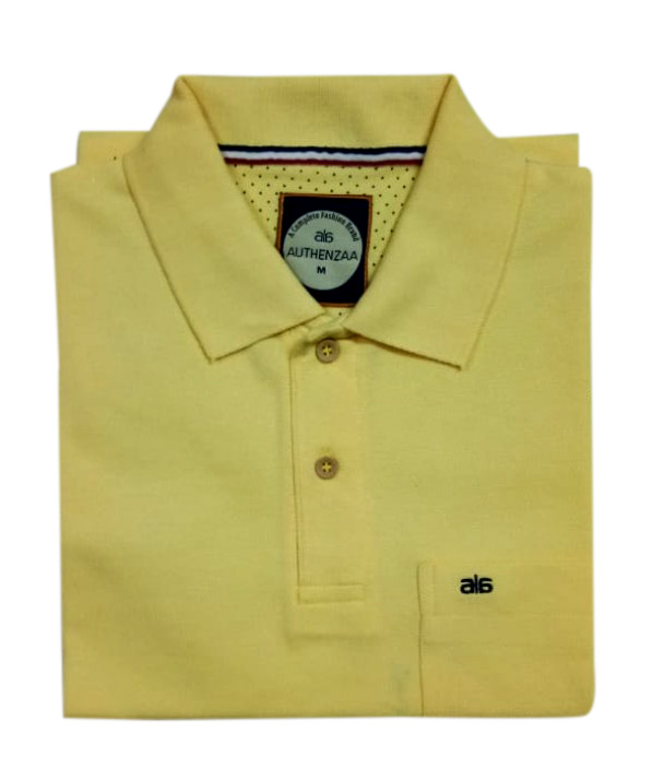 AI P 125-LEMON POLO T SHIRT