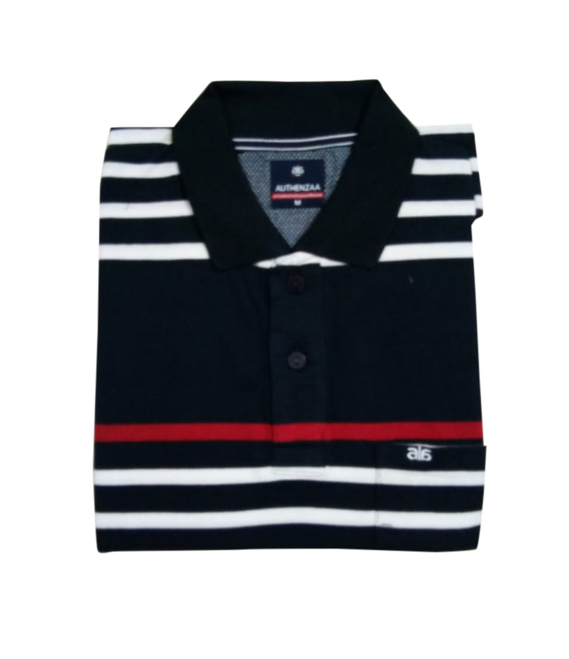 AI ST 138-NAVY POLO T SHIRT