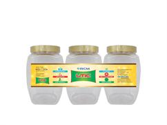 Anna Pet Jar 1500 ML (Set Of 3 Pcs )