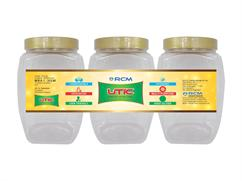 Anna Pet jar 3000 ML (Set of 3 Pcs )