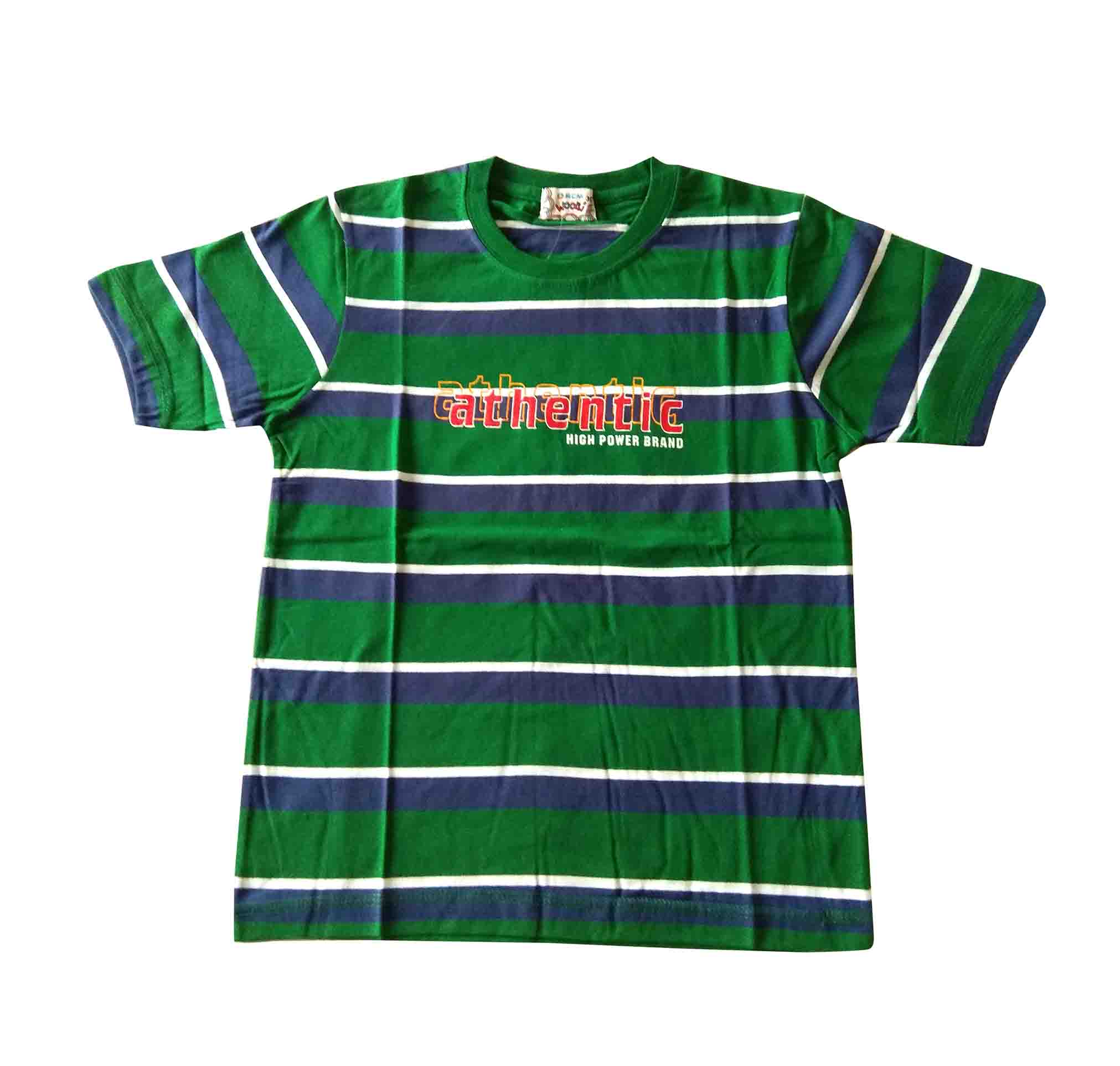 KT JUNE AUTHENTIC-GREEN KIDS T SHIRT