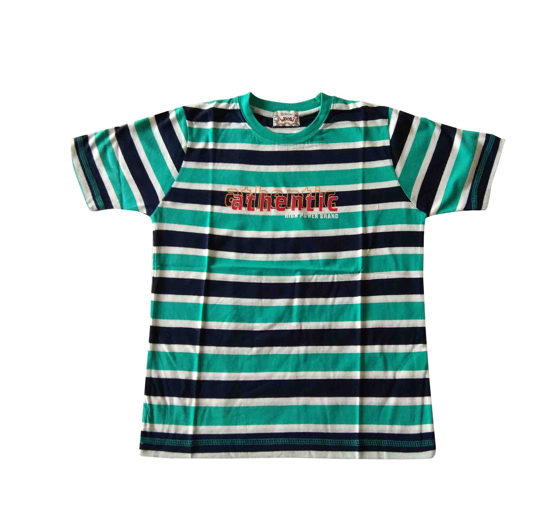 KT JUNE AUTHENTIC-SEA GREEN KIDS T SHIRT