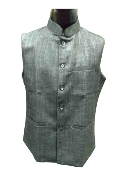 MOJ AHINSA 1-DARK GRAY MODI JACKET