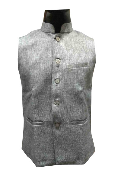MOJ AHINSA 1-LIGHT GRAY MODI JACKET