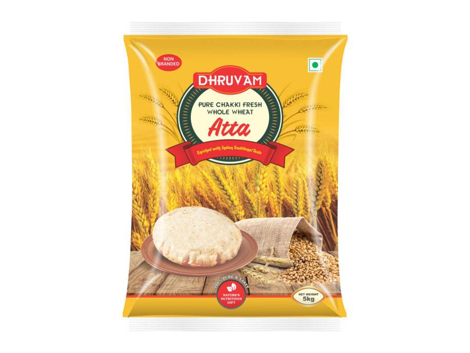 Dhruvam Chakki Fresh Atta(5kg)