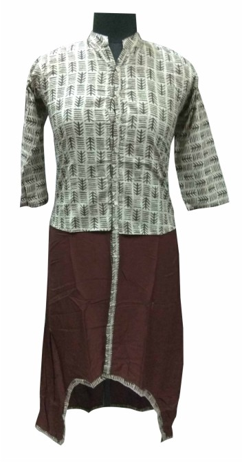 AviFash SHRUSHTI - Coffee Stitched Kurti