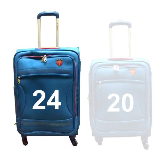 "TB BARCELONA 24""-BLUE TRAVEL BAG"