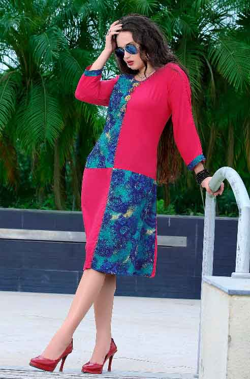 SMC BELA 01-D NO 9 WOMEN KURTI L SIZE ONLY