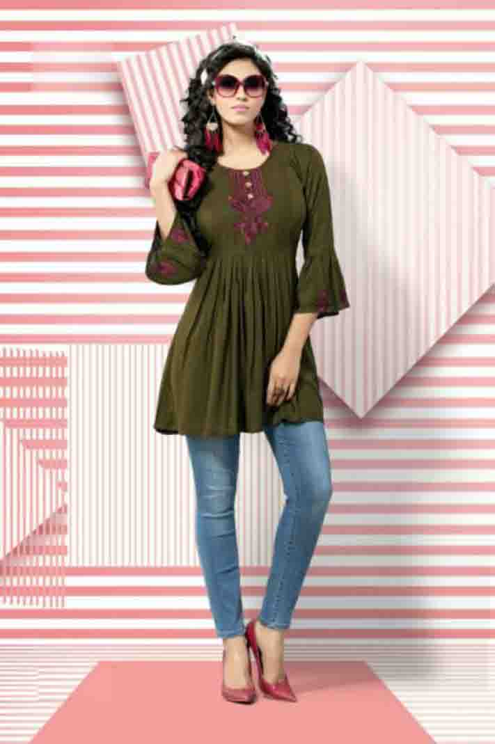 SUF BELLY 01-D NO 12 WOMEN KURTI
