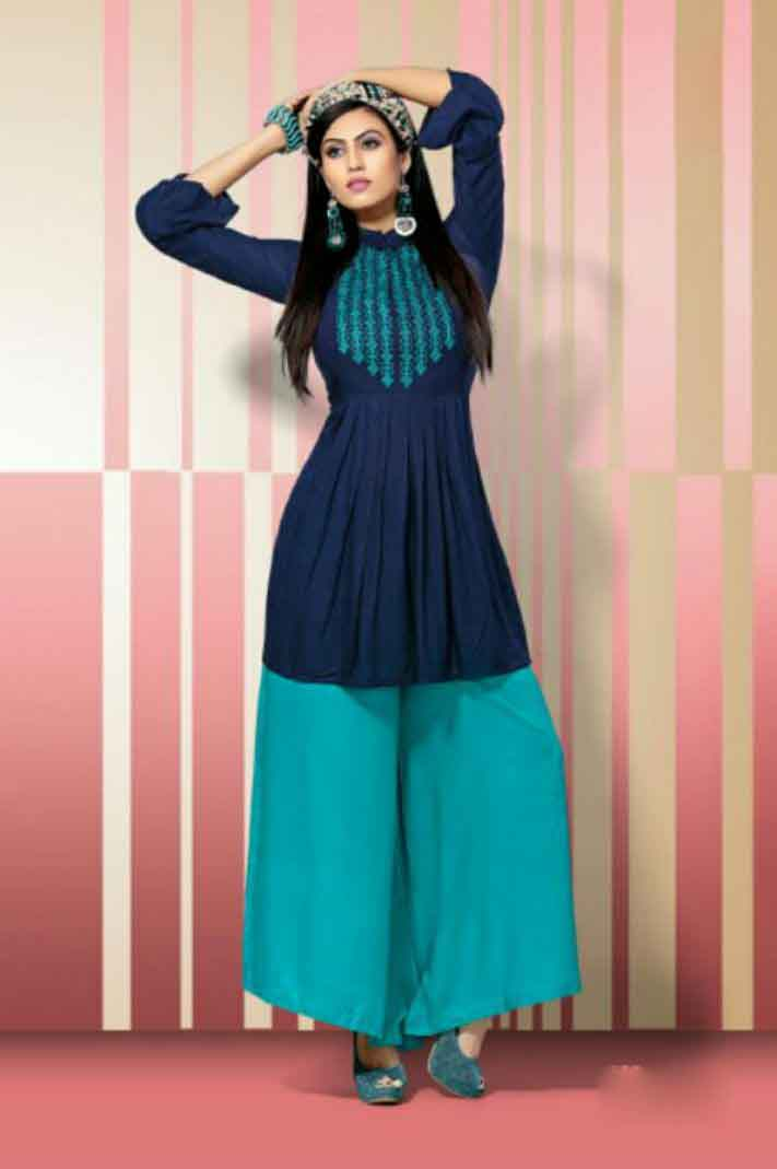 SUF BELLY 01-D NO 5 WOMEN KURTI