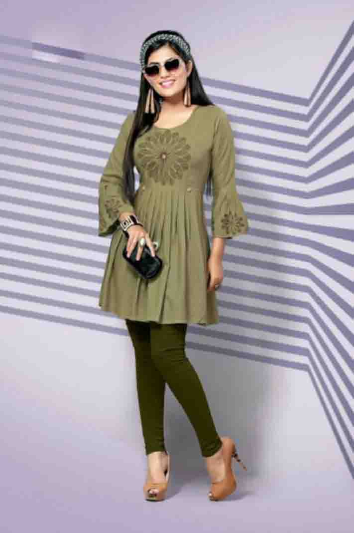 SUF BELLY 01-D NO 6 WOMEN KURTI