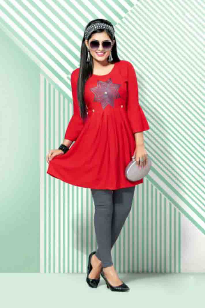 SUF BELLY 01-D NO 7 WOMEN KURTI