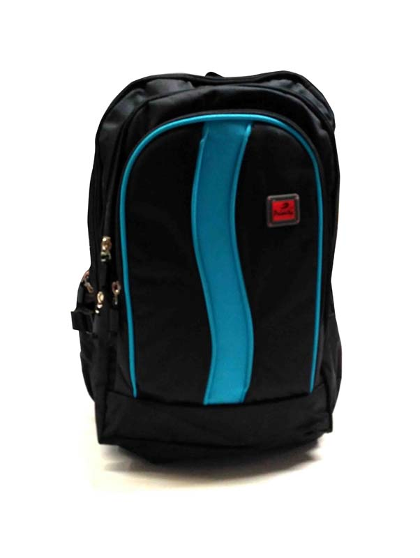HS HUNDRED 02-BLACK/BLUE Backpack Bag