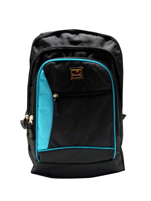 HS HUNDRED 01-BLACK/BLUE Backpack Bag