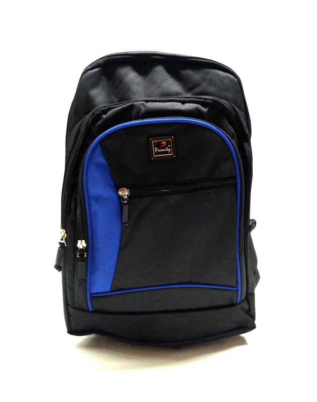 HS HUNDRED 01-BLACK/N.BLUE Backpack Bag