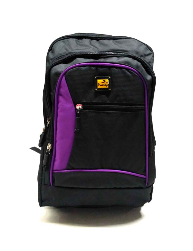 HS HUNDRED 01-BLACK/PURLPE Backpack Bag