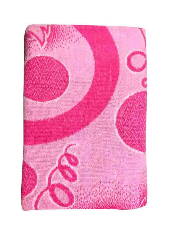 BLOSSOM 2-PINK -COTTON TERRY TOWEL