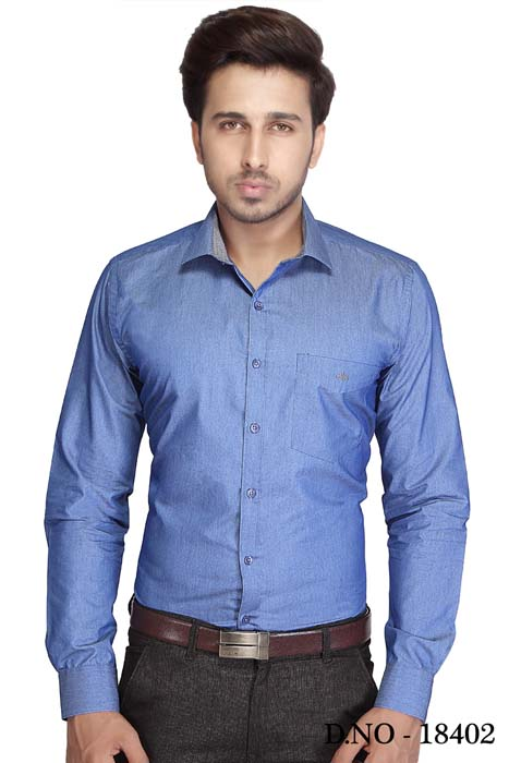 BT 1888-DARK BLUE FORMAL SHIRT