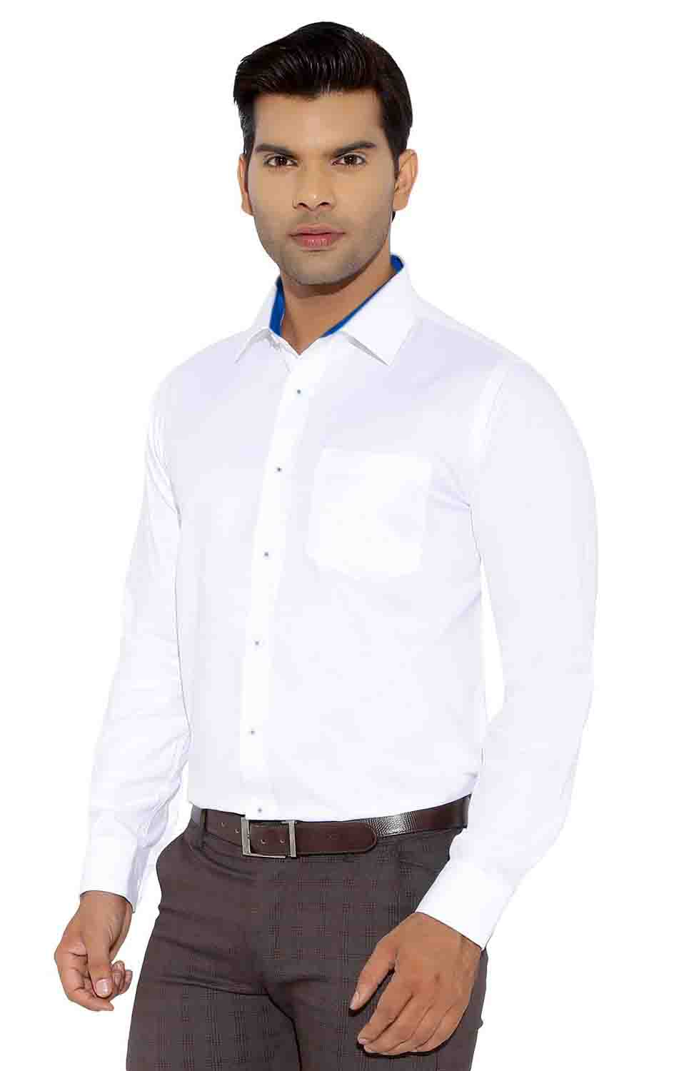 BT 703-WHITE FORMAL SHIRT