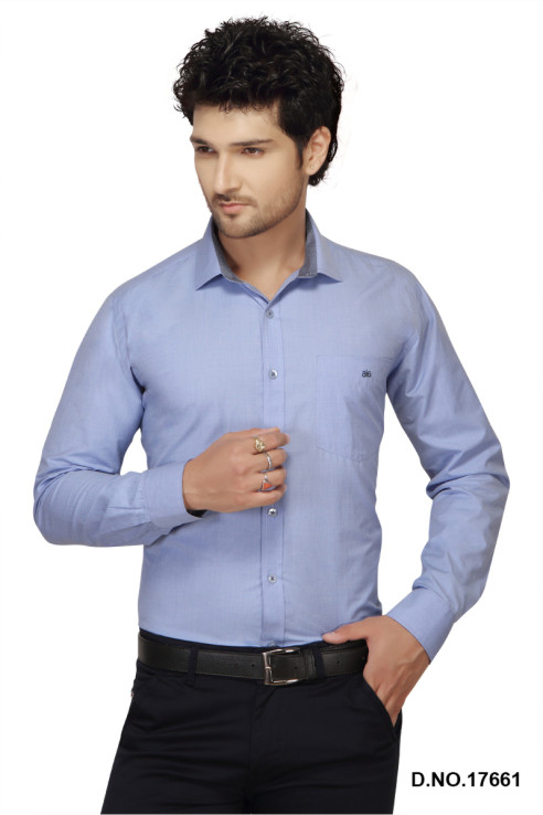 BT 1868-BLUE DOT  FORMAL SHIRT