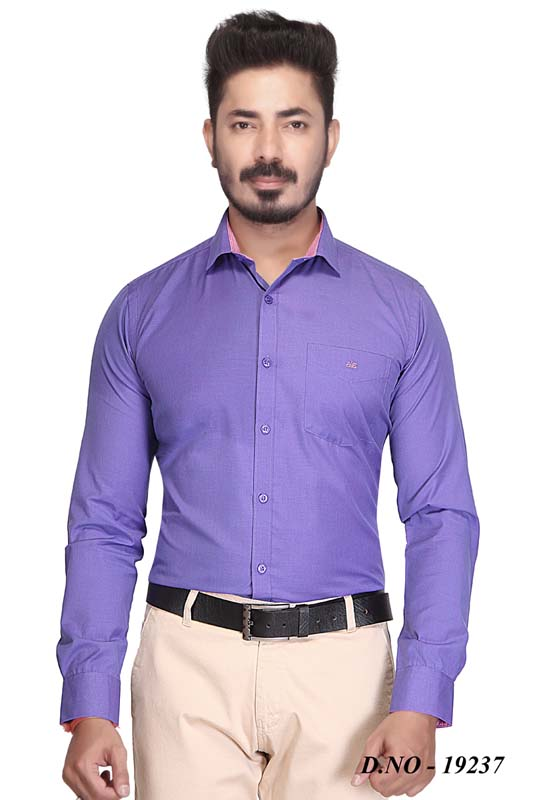 BT GALILIO-PURPLE FORMAL SHIRT