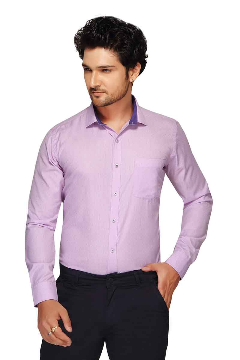 BT GALLILED-MAGENTA FORMAL SHIRT