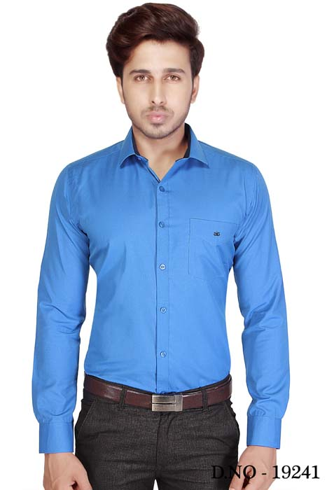 BT GALILIO-ROYAL BLUE FORMAL SHIRT