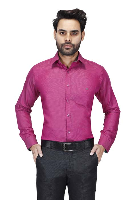 BT HARDIK 03-PINK FORMAL SHIRT
