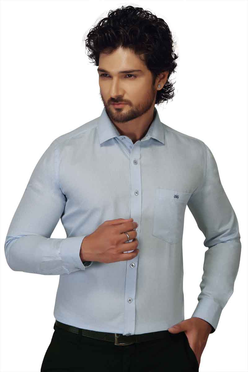 BT HARDIK-BLUE FORMAL SHIRT