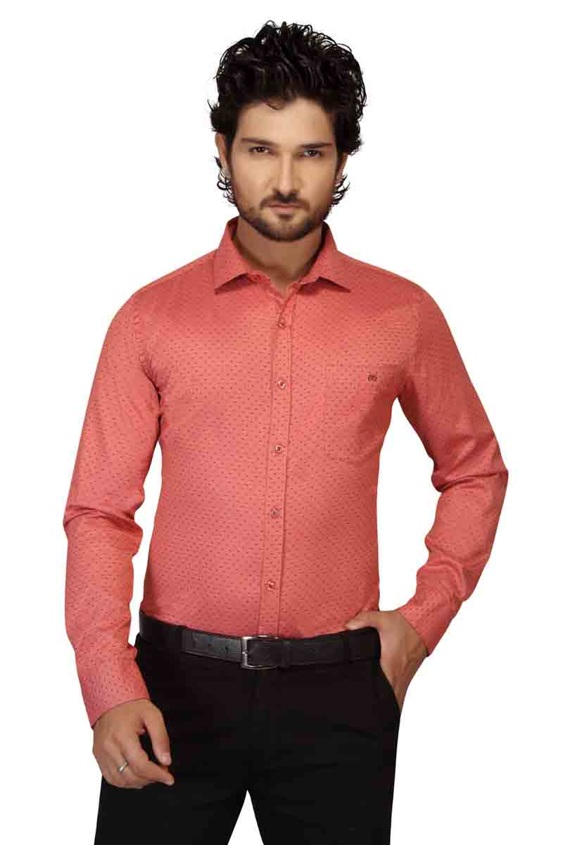 BT HARDIK-CARROT FORMAL SHIRT