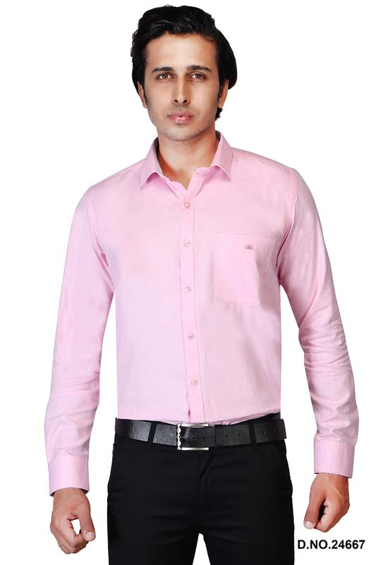 BT MAAN TEX 04-LIGHT PINK FORMAL SHIRT