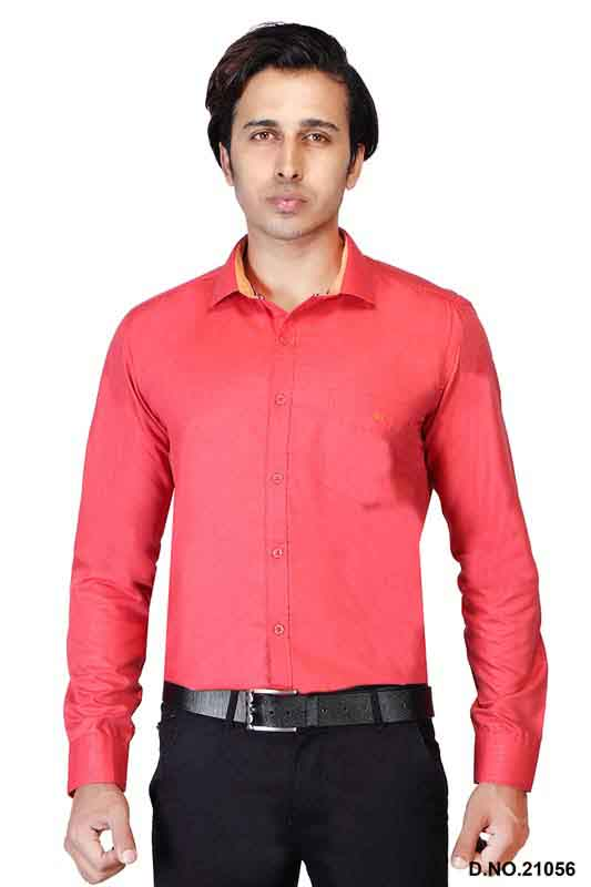 BT N TEX 01-DARK PINK FORMAL SHIRT