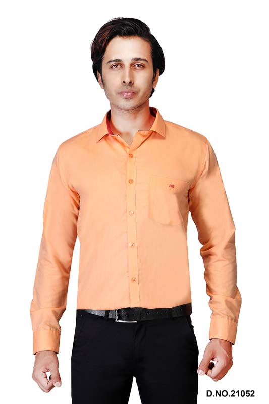 BT N TEX 01-ORANGE FORMAL SHIRT