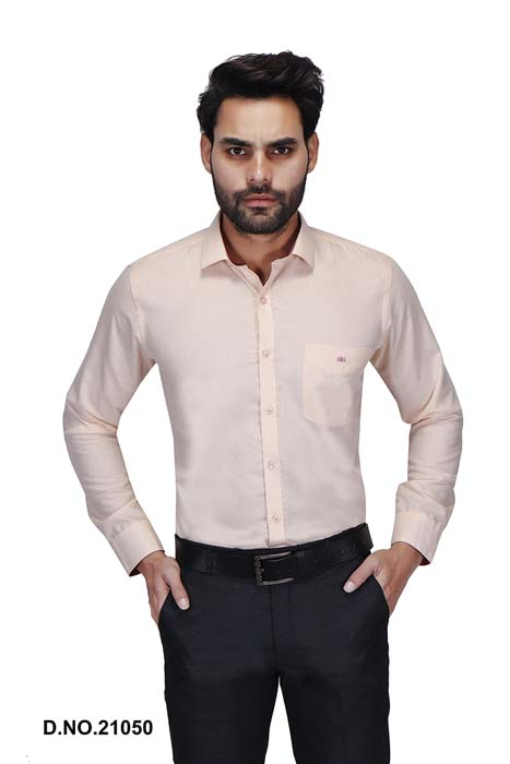 BT N TEX 01-PEACH FORMAL SHIRT