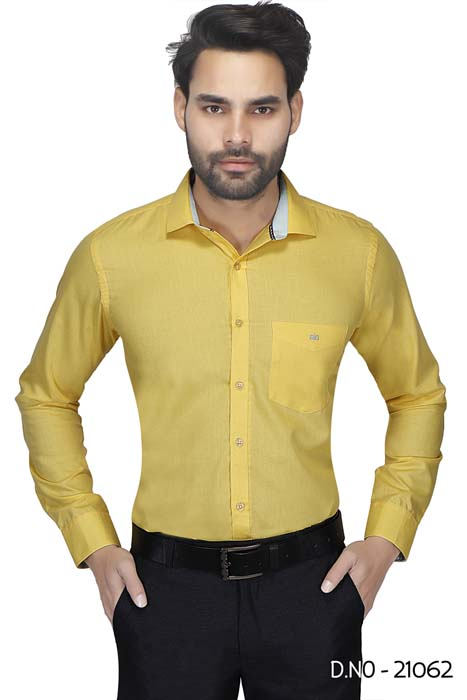 BT N TEX 01-YELLOW FORMAL SHIRT