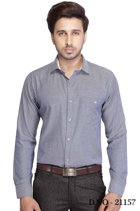 BT NEELA 01-GRAY FORMAL SHIRT